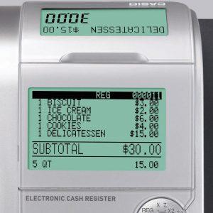 test avis caisse enregistreuse Casio-SE-C450MB